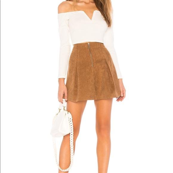 Tularosa Dresses & Skirts - Tularosa Kendall Skirt in Toffee